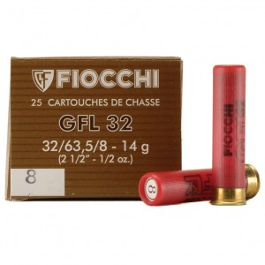 Fiocchi Specialty Field Load 32 Gauge 8 Shot 25rd Ammo