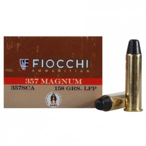 Fiocchi Cowboy Action 357 Magnum 50rd Ammo