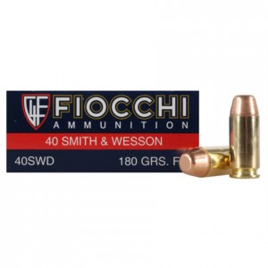 Fiocchi Shooting Dynamics 40 Smith & Wesson 50rd Ammo