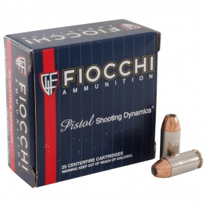 Fiocchi Extrema 40 Smith & Wesson 25rd Ammo