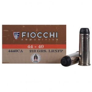 Fiocchi Cowboy Action 44-40 Winchester 50rd Ammo