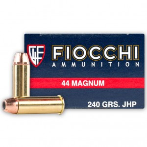 Fiocchi Shooting Dynamics 44 Remington Magnum 50rd Ammo