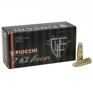Fiocchi Specialty 7.63 Mauser 50rd Ammo