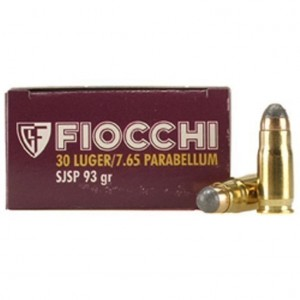 Fiocchi Specialty 30 Luger 50rd Ammo