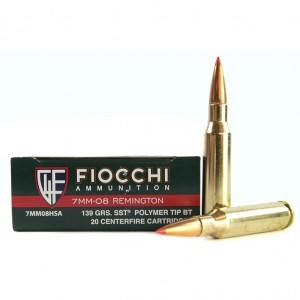 Fiocchi Extrema 7mm-08 Remington 20rd Ammo