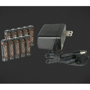 FoxPro 10 AA NiMH Battery & Charger Kit