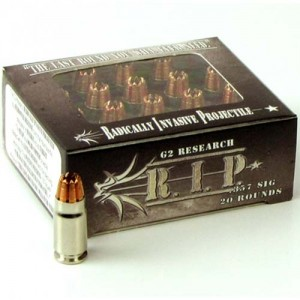 G2 Research R.I.P. 357 Sig 20rd Ammo