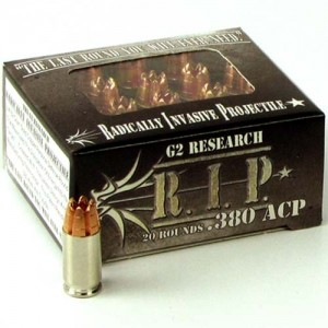 G2 Research R.I.P. 380 ACP 20rd Ammo