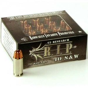 G2 Research R.I.P. 40 Smith & Wesson 20rd Ammo