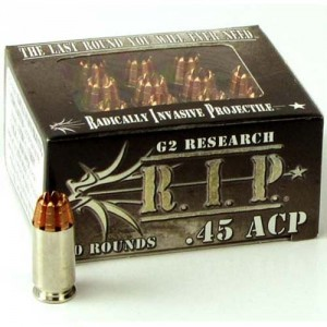 G2 Research R.I.P. 45 ACP 20rd Ammo
