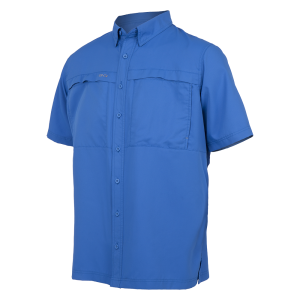 GameGuard Men's Pacific Blue MicroFiber Shirt