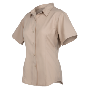 GameGuard Ladies' Khaki MicroFiber Shirt