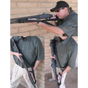 Giles Remington 870 - Fixed Stock - Tri-Glide Front Sling