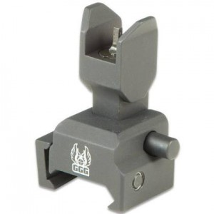 GG&G Spring Actuated Flip Up Front Sight for Tactical Forear
