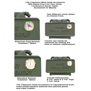 GG&G Claymore Mine Desk Accessory