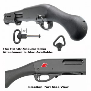 GG&G Remington 870 Tac-14 Quick Detach Rear Sling Attachment