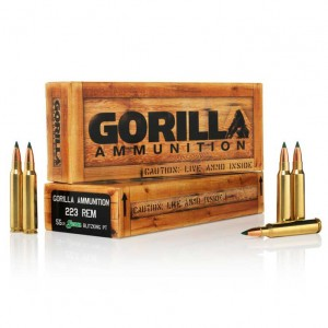 Gorilla Match 223 Remington 20rd Ammo