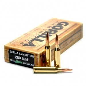 Gorilla Match 260 Remington 20rd Ammo