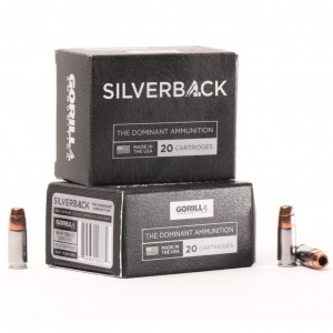 Gorilla Silverback 9mm Luger 20rd Ammo