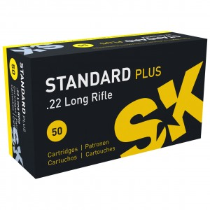 SK Standard Plus 22 Long Rifle 50rd Ammo