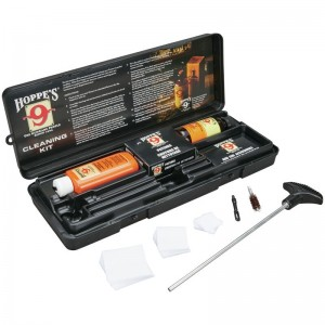 Hoppe's 9 Pistol Cleaning Kit with Storage Box