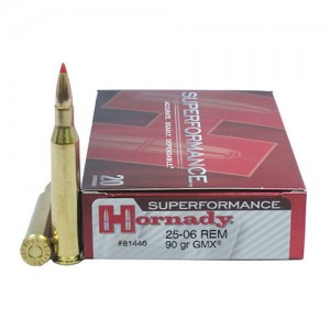 Hornady Superformance 25-06 Remington 20rd Ammo