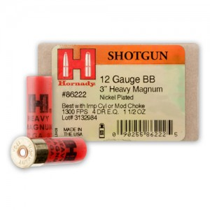 Hornady Heavy Magnum Coyote 12 Gauge BB Shot 10rd Ammo