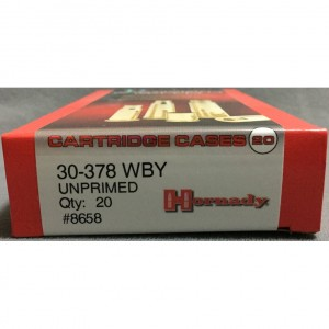 Hornady 30-378 Weatherby Magnum 20rd Cartridge Case