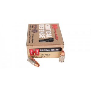 Hornady Critical Defense 32 North American Arms 25rd Ammo