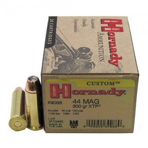 Hornady Custom 44 Remington Magnum 20rd Ammo