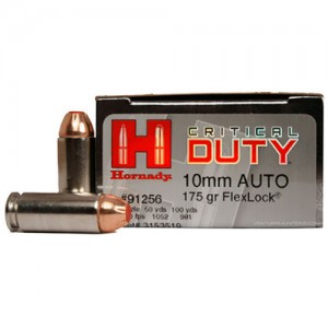 Hornady Critical Duty 10mm Auto 20rd Ammo