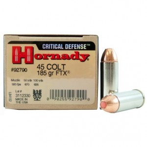 Hornady Critical Defense 45 Colt 20rd Ammo
