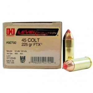 Hornady LEVERevolution 45 Colt 20rd Ammo