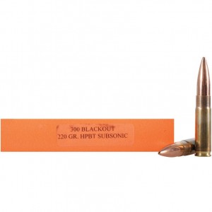 HSM Match 300 Blackout 20rd Ammo