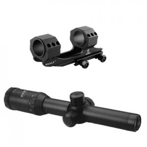 Konus 1-4x24 Konuspro M-30 30mm Riflescope Kit