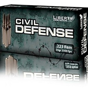 Liberty Civil Defense 223 Remington 20rd Ammo