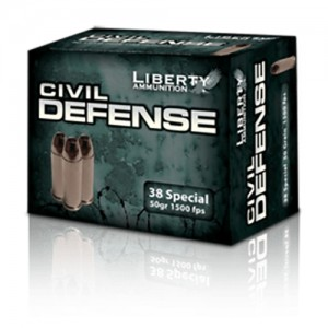 Liberty Civil Defense 38 Special 20rd Ammo