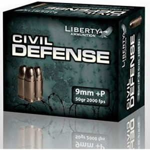Liberty Civil Defense 9mm Luger 20rd Ammo