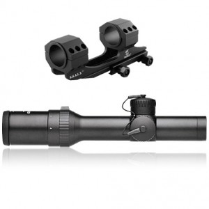 Meopta 1-4x22 ZD 30mm Rifle Scope Kit