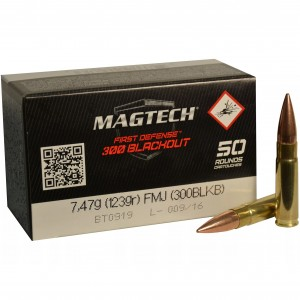 Magtech First Defense 300 Blackout 50rd Ammo