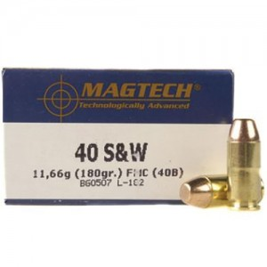 Magtech Handgun 40 Smith & Wesson 50rd Ammo
