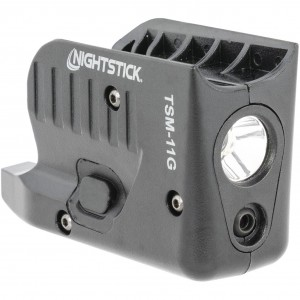 Nightstick Subcompact Weapon Light with Green Laser
