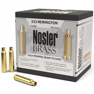 Nosler 223 Remington 100rd Brass