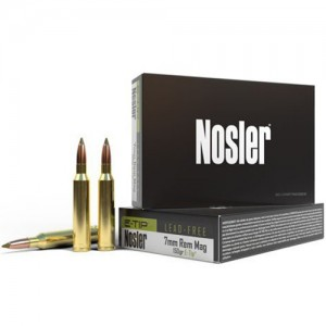 Nosler E-Tip 7mm Remington Magnum 20rd Ammo