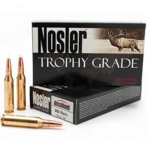 Nosler Trophy Grade 260 Remington 20rd Ammo