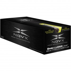 NovX Cross Trainer / Competition 9mm Luger 51rd Ammo