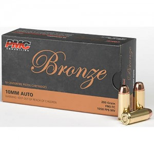 PMC Bronze 10mm Auto 50rd Ammo