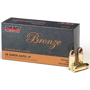 PMC Bronze 38 Super 50rd Ammo