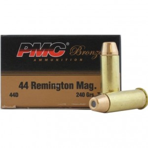 PMC Bronze 44 Remington Magnum 25rd Ammo