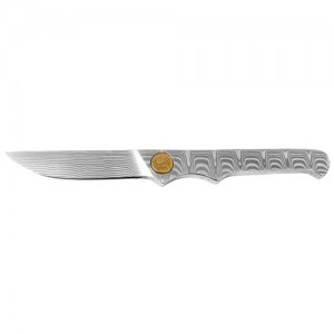 Puma Mini Damascus Fixed Blade Knife